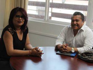 Visita a Infocol del Presidente de Comité de Participación Ciudadana del Sistema Anticorrupción del Estado de Colima.