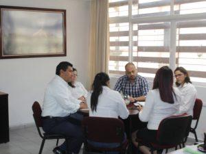 Comisionada presidente de Infocol se reúne con directivos del C4