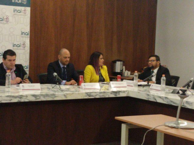 Primer Sesión Ordinaria de la Comisión de Rendición Cuentas en el INAI