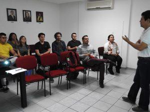 Visitan alumnos de la Universidad Vizcaya de las Américas las instalaciones de Infocol