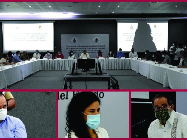 Reunión de la Comisión Interinstitucional de Implementación de la Reforma Laboral en el Estado de Colima