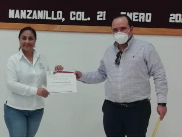 ENTREGA INFOCOL CONSTANCIA DE CUMPLIMIENTO AL AYUNTAMIENTO DE MANZANILLO