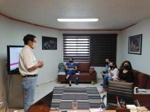 Taller de capacitación a personal del Instituto de Fomento de Ferias y Exposiciones de Colima